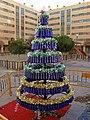 Arbol de Navidad en Coslada - El ingenio del reciclaje (11464950434).jpg