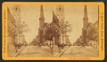 Arch Street, Philadelphia. (West from Broad St.), by Cremer, James, 1821-1893.png