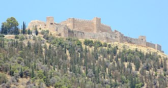 Argos - The castle on Larissa Hill.