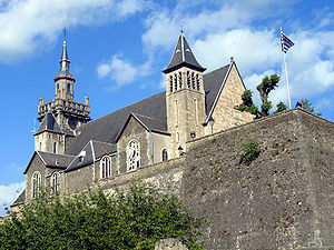 Arlon - St Donat's church, Arlon