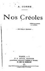 Nos Créoles, étude politico-sociologique