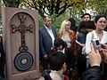 Armenian memorial unveiled - geograph.org.uk - 778957.jpg