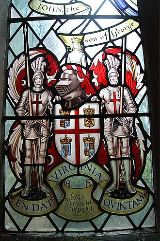 Senate of Virginia - The Coat of Arms of the London Company.