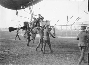 British Army airship Beta - Gondola of Beta I