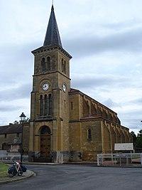 Artaix (Saône-et-Loire, Fr), l'église.JPG