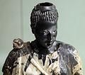 Arte romana con restauri moderni, testa di moro antico con corpo di restauro 03.JPG