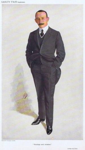 Arthur Du Cros - Arthur Du Cros, Vanity Fair, 1910