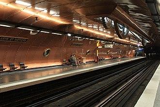 Paris Métro Line 11 - Arts et Métiers station