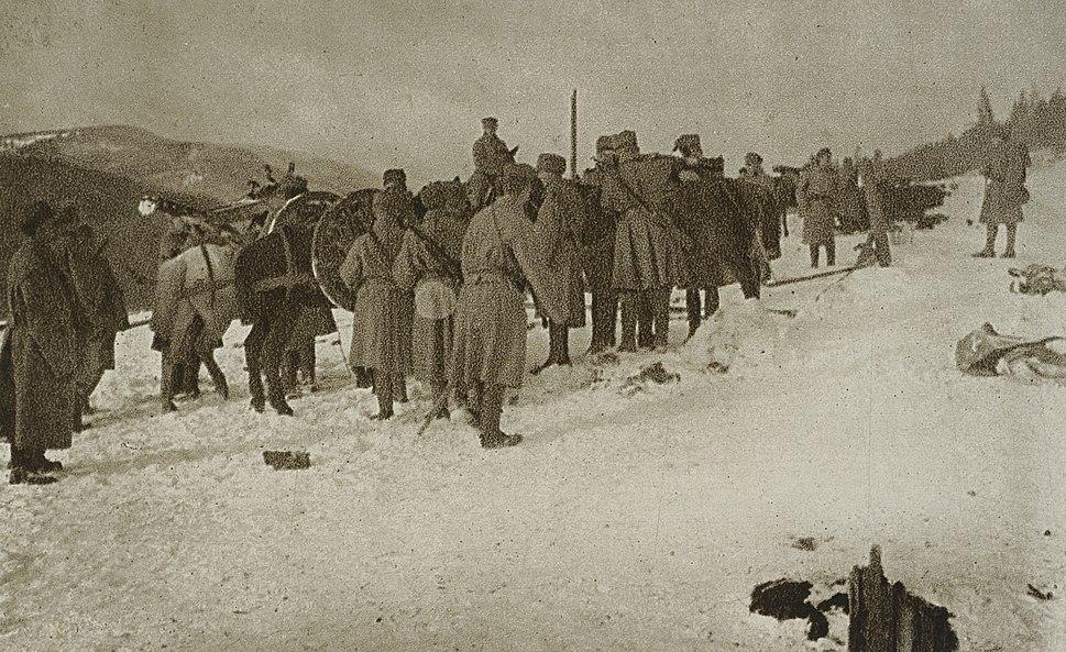 Artyleria górska II Brygady Legionów Polskich