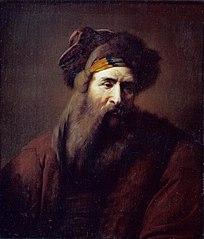 Head of a Bearded Man in Oriental Costume