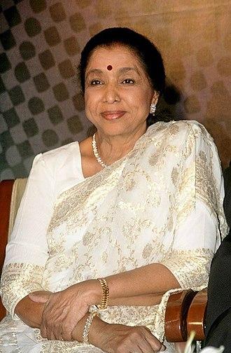 Asha Bhosle - Bhosle in 2008