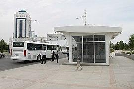 Ashgabat bus stop IMG 5627 (26085205046)