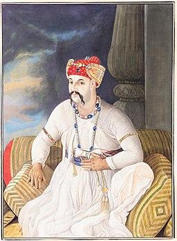 Asifportrait2 - Asuf ud Daula story legend bool bhulaiya bada imambara nawab lucknow india travel