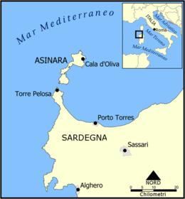 Stintino Cartina Geografica.Parco Nazionale Dell Asinara Wikipedia