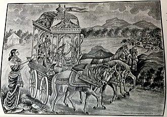 Ashwatthama - Asvattama was arrested and brought to Draupadi by Arjuna