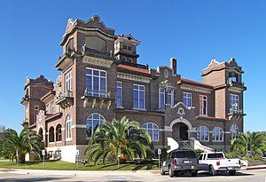 National Register of Historic Places listings in Atascosa County, Texas - Image: Atascosa county courthouse