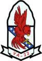Attack Squadron 22 (US Navy) insignia c1988.png