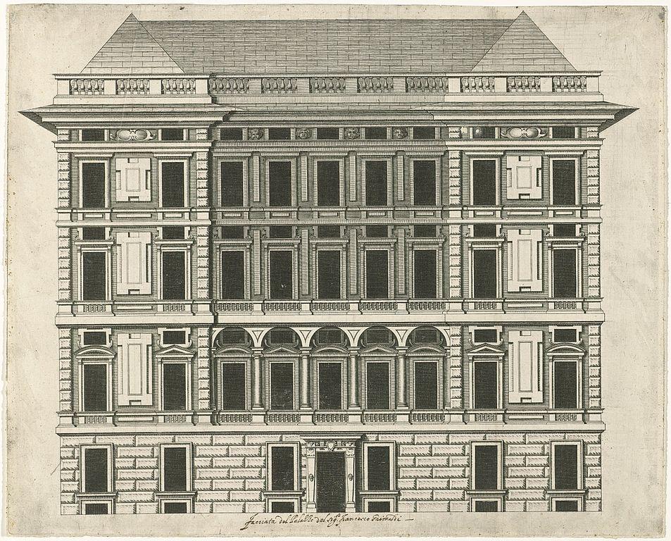 Palazzo Spinola à Gênes par Nicolaes Rijckmans supervisé par Rubens.