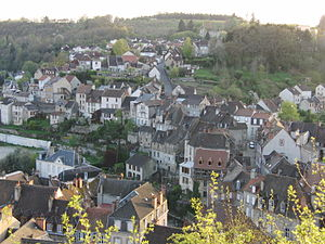 Aubusson, Creuse - A general view of Aubusson