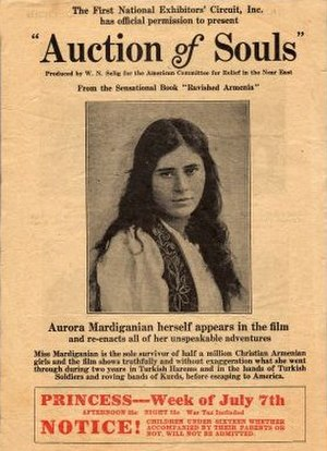 Ravished Armenia (film) - Promotional poster for the film