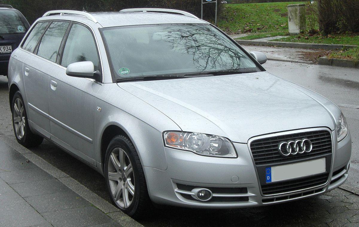 File Audi A4 B7 Avant Facelift 2004 2008 2 0 Tdi Front Mj Jpg Wikimedia Commons