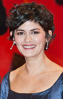 Audrey Tautou french film actress