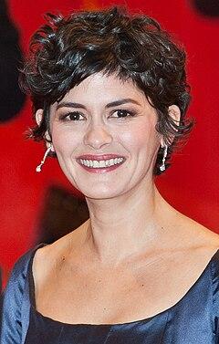 Audrey Tautou på Filmfestivalen i Berlin 2015.