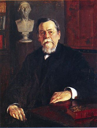 August Ahlqvist - Portrait by Eero Järnefelt