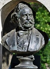 Büste von August Schmidt an seinem Grab auf dem Wiener Zentralfriedhof (Quelle: Wikimedia)