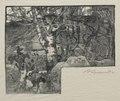 Auguste Louis Lepère - Une chasse à Courre au Mont Gerard - 1921.1390 - Cleveland Museum of Art.tif
