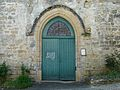 Auriac-du-Périgord église portail.JPG