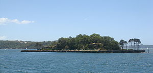 Clark Island (New South Wales) - Clark Island lies in Sydney Harbour, and is situated offshore of Darling Point.