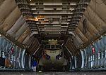 Australian Army CH-47F Chinook inside a USAF C-5 Galaxy at Dover Air Force Base.jpg