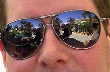 7d32076f24 Mirrored. Main article  Mirrored sunglasses. Mirrored aviators