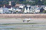 Avro Anson beach landing in Jersey.JPG