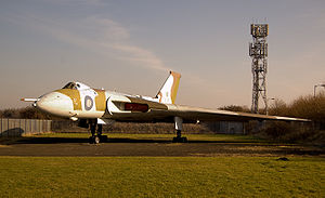 North East Land, Sea and Air Museums - Avro Vulcan B.2, XL319 on display at the museum.