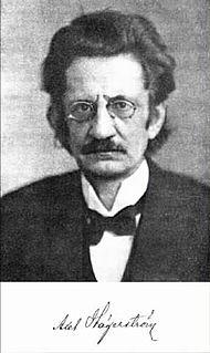 Axel Hägerström Swedish philosopher and jurist