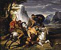Bénigne Gagneraux - Lion Hunt - WGA08399.jpg