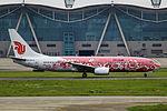 B-2642 - Air China - Boeing 737-89L - Pink Peony Livery - CKG (9759924111).jpg
