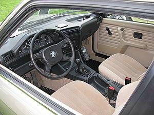 BMW 3 Series (E30) - 316i interior
