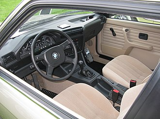 BMW 3 Series (E30) - 316i interior
