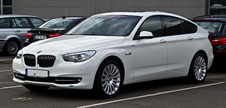 BMW 5 Series (F10) - 5 Series Gran Turismo- front