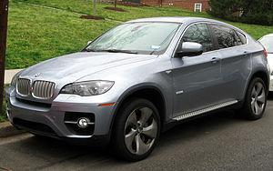 BMW X6 - BMW X6 ActiveHybrid