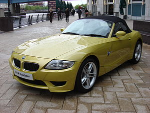BMW M Roadster - Image: BMW Z4 M Roadster front