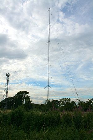 BBC Radio Derby - BBC Radio Derby's medium wave transmitter at Burnaston.