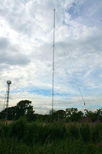 BBC Radio Derby - BBC Radio Derby's medium wave transmitter at Burnaston.