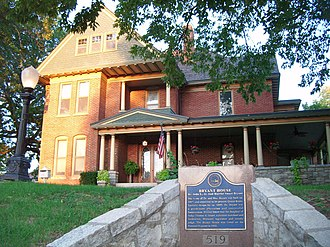 National Register of Historic Places listings in Jackson County, Missouri - Image: BRYANT HOUSE