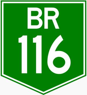 Marginal Pinheiros - Image: BR 116