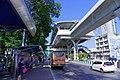 BTS Kasetsart University - Station with bus stop.jpg
