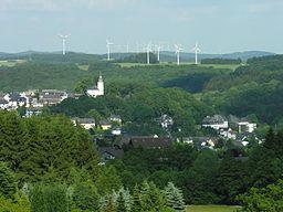 Bad Marienberg, Westerwald, Germany.